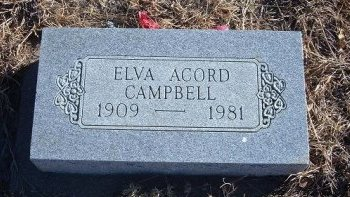 CAMPBELL, ELVA - Bent County, Colorado | ELVA CAMPBELL - Colorado Gravestone Photos