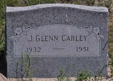 CARLEY, J GLENN - Bent County, Colorado | J GLENN CARLEY - Colorado Gravestone Photos