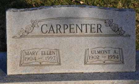 CARPENTER, MARY ELLEN - Bent County, Colorado | MARY ELLEN CARPENTER - Colorado Gravestone Photos