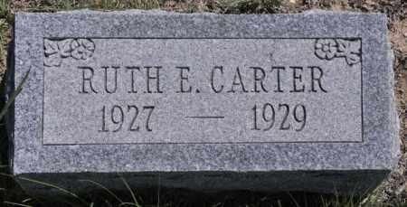 CARTER, RUTH E - Bent County, Colorado | RUTH E CARTER - Colorado Gravestone Photos