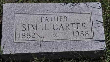 CARTER, SIM J - Bent County, Colorado | SIM J CARTER - Colorado Gravestone Photos