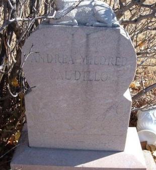 CAUDILLO, ANDREA MILDRED - Bent County, Colorado   ANDREA MILDRED CAUDILLO - Colorado Gravestone Photos