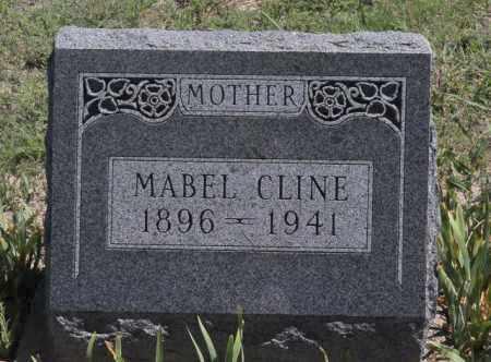CLINE, MABEL - Bent County, Colorado | MABEL CLINE - Colorado Gravestone Photos