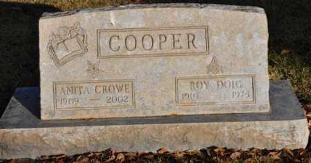 COOPER, ROY DOIG - ANITA - Bent County, Colorado | ROY DOIG - ANITA COOPER - Colorado Gravestone Photos