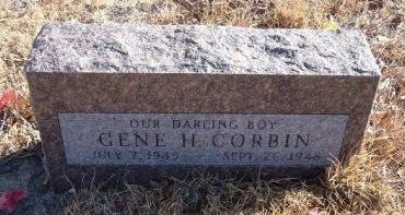 CORBIN, GENE H - Bent County, Colorado | GENE H CORBIN - Colorado Gravestone Photos