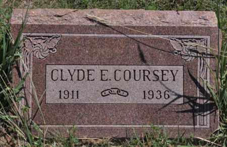 COURSEY, CLYDE E - Bent County, Colorado | CLYDE E COURSEY - Colorado Gravestone Photos