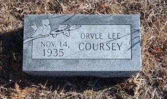 COURSEY, ORVLE LEE - Bent County, Colorado | ORVLE LEE COURSEY - Colorado Gravestone Photos