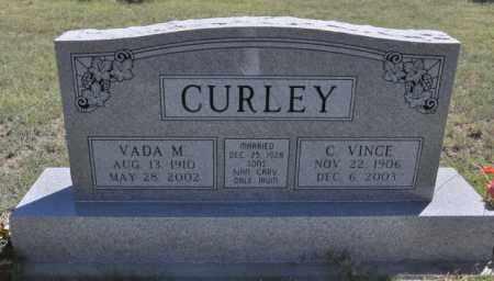 CURLEY, C. VINCE - Bent County, Colorado | C. VINCE CURLEY - Colorado Gravestone Photos