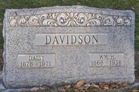 DAVIDSON, WM. H. - DAISY - Bent County, Colorado | WM. H. - DAISY DAVIDSON - Colorado Gravestone Photos