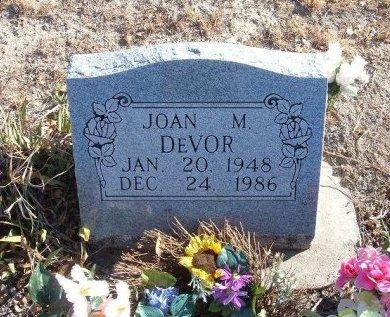 DEVOR, JOAN M - Bent County, Colorado   JOAN M DEVOR - Colorado Gravestone Photos