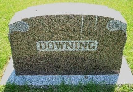 DOWNING FAMILY GRAVESTONE,  - Bent County, Colorado |  DOWNING FAMILY GRAVESTONE - Colorado Gravestone Photos