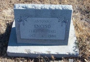 ENCISO, ANTONIO - Bent County, Colorado   ANTONIO ENCISO - Colorado Gravestone Photos