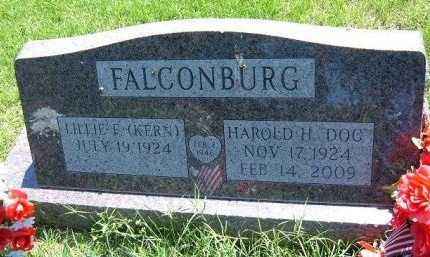 "FALCONBURG, HAROLD H ""DOC"" - Bent County, Colorado 