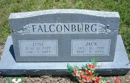 FALCONBURG, JACK - Bent County, Colorado | JACK FALCONBURG - Colorado Gravestone Photos