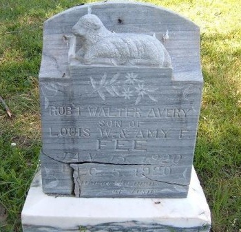 FEE, ROBERT WALTER AVERY - Bent County, Colorado | ROBERT WALTER AVERY FEE - Colorado Gravestone Photos