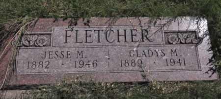 FLETCHER, GLADYS M - Bent County, Colorado | GLADYS M FLETCHER - Colorado Gravestone Photos