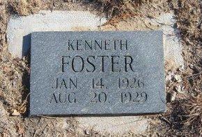 FOSTER, KENNETH - Bent County, Colorado | KENNETH FOSTER - Colorado Gravestone Photos