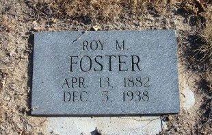 FOSTER, ROY M - Bent County, Colorado   ROY M FOSTER - Colorado Gravestone Photos