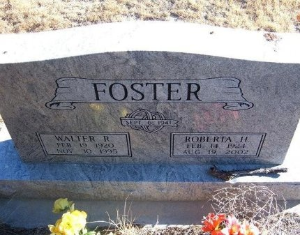 CASS FOSTER, ROBERTA H - Bent County, Colorado | ROBERTA H CASS FOSTER - Colorado Gravestone Photos