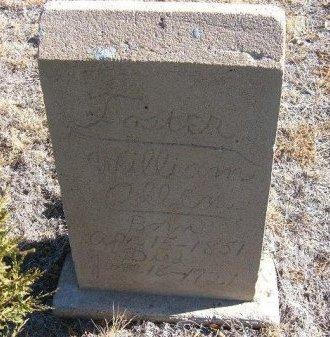FOSTER, WILLIAM ALLEN - Bent County, Colorado   WILLIAM ALLEN FOSTER - Colorado Gravestone Photos