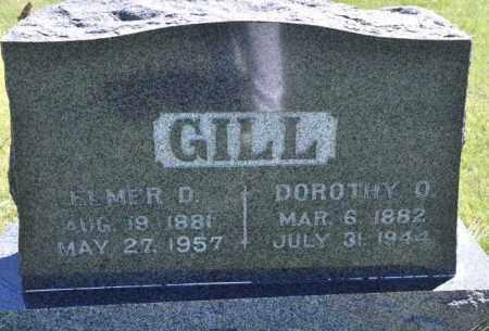 GILL, ELMER D - Bent County, Colorado   ELMER D GILL - Colorado Gravestone Photos