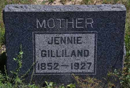 GILLILAND, JENNIE - Bent County, Colorado   JENNIE GILLILAND - Colorado Gravestone Photos
