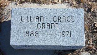 GRANT, LILIAN GRACE - Bent County, Colorado | LILIAN GRACE GRANT - Colorado Gravestone Photos