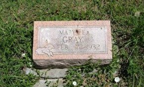GRAY, MARY E - Bent County, Colorado | MARY E GRAY - Colorado Gravestone Photos