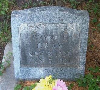 GRAY, WAYNE E - Bent County, Colorado | WAYNE E GRAY - Colorado Gravestone Photos