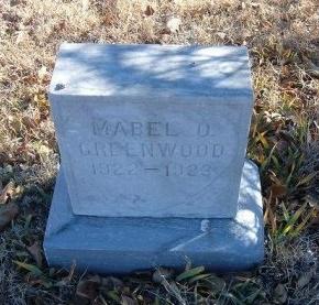 GREENWOOD, MABEL O - Bent County, Colorado | MABEL O GREENWOOD - Colorado Gravestone Photos
