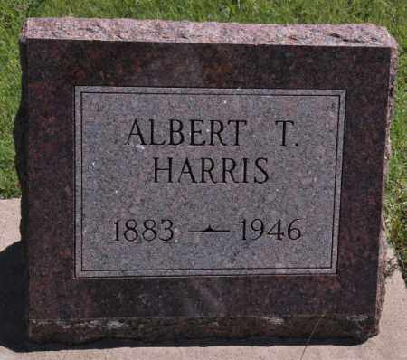 HARRIS, ALBERT T - Bent County, Colorado   ALBERT T HARRIS - Colorado Gravestone Photos