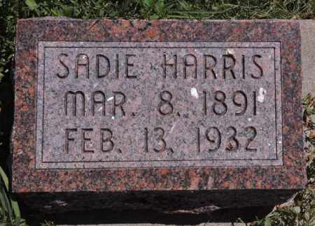 HARRIS, SADIE - Bent County, Colorado | SADIE HARRIS - Colorado Gravestone Photos