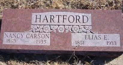CARSON HARTFORD, NANCY - Bent County, Colorado | NANCY CARSON HARTFORD - Colorado Gravestone Photos