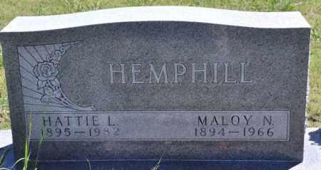 HEMPHILL, HATTIE L - Bent County, Colorado | HATTIE L HEMPHILL - Colorado Gravestone Photos
