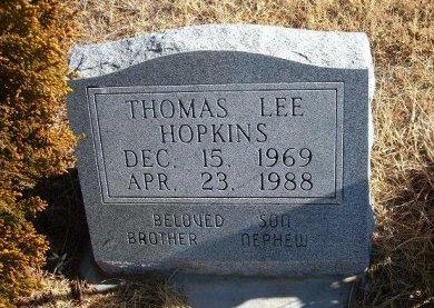 HOPKINS, THOMAS LEE - Bent County, Colorado   THOMAS LEE HOPKINS - Colorado Gravestone Photos