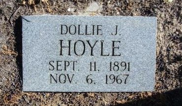 HOYLE, DOLLIE J - Bent County, Colorado | DOLLIE J HOYLE - Colorado Gravestone Photos