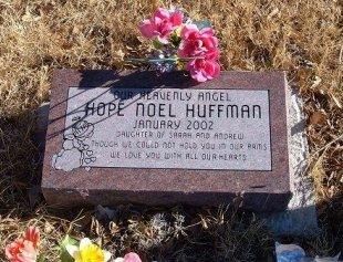 HUFFMAN, HOPE NOEL - Bent County, Colorado   HOPE NOEL HUFFMAN - Colorado Gravestone Photos