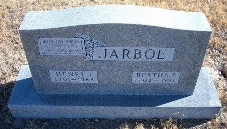 JARBOE, BERTHA E - Bent County, Colorado | BERTHA E JARBOE - Colorado Gravestone Photos