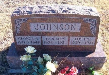 JOHNSON, GEORGE A - Bent County, Colorado   GEORGE A JOHNSON - Colorado Gravestone Photos