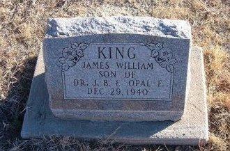 KING, JAMES WILLIAM - Bent County, Colorado | JAMES WILLIAM KING - Colorado Gravestone Photos