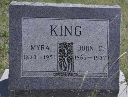 KING, JOHN C - Bent County, Colorado | JOHN C KING - Colorado Gravestone Photos