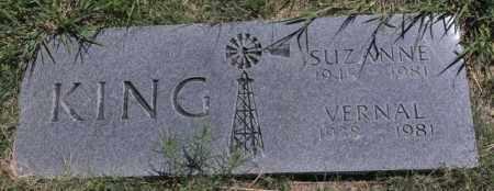 KING, VERNAL - Bent County, Colorado | VERNAL KING - Colorado Gravestone Photos