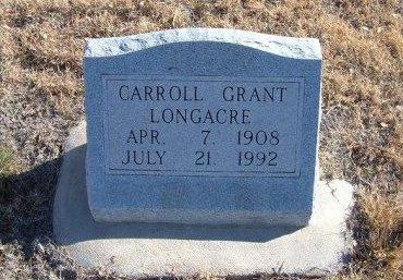 LONGACRE, CARROLL - Bent County, Colorado | CARROLL LONGACRE - Colorado Gravestone Photos