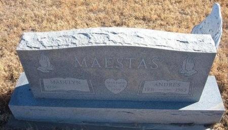 MAESTAS, ANDRES - Bent County, Colorado   ANDRES MAESTAS - Colorado Gravestone Photos