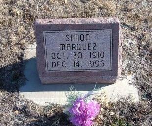 MARQUEZ, SIMON - Bent County, Colorado   SIMON MARQUEZ - Colorado Gravestone Photos