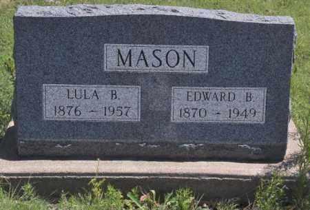 MASON, EDWARD B - Bent County, Colorado   EDWARD B MASON - Colorado Gravestone Photos