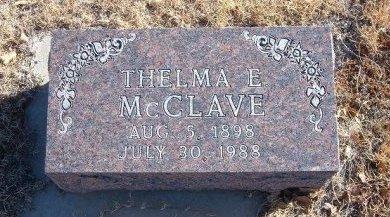 BAKER MCCLAVE, THELMA E - Bent County, Colorado | THELMA E BAKER MCCLAVE - Colorado Gravestone Photos