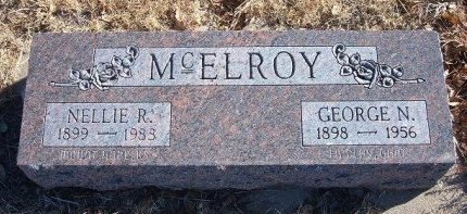 HARPER MCELROY, NELLIE RUTH - Bent County, Colorado   NELLIE RUTH HARPER MCELROY - Colorado Gravestone Photos