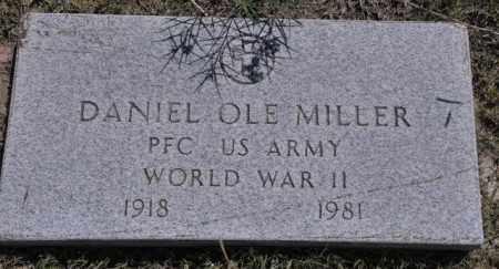MILLER, DANIEL OLE - Bent County, Colorado   DANIEL OLE MILLER - Colorado Gravestone Photos