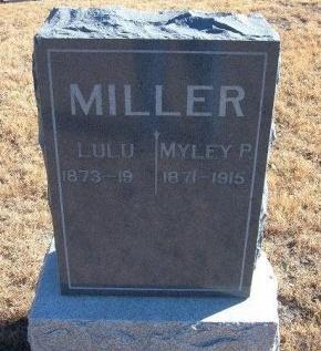 MILLER, MYLEY - Bent County, Colorado   MYLEY MILLER - Colorado Gravestone Photos